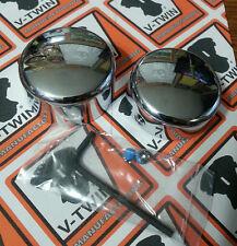Chrome Swingarm Pivot Bolt Covers fits Harley Davidson Softail 2000 thru 2007