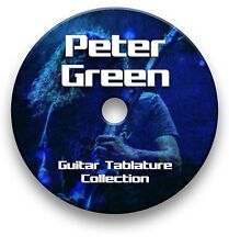 PETER GREEN ROCK GUITAR TAB TABLATURE SONG BOOK ANTHOLOGY SOFTWARE CD