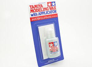 Tamiya 87036 Modeling Wax w/Applicator Plastic Model Car Craft Finishing Tools