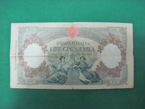 Vintage  - LIRE 5000  Banca D'italia   Regine del Mare Repubbliche Marinare 1947