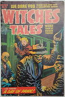 Witches Tales #22 Low Grade Pre-Code Horror Comic 1953 10c  Cover Detached