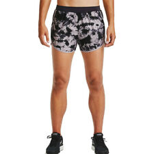 Under Armour Womens Fly By 2.0 Printed Shorts Trousers Bottoms