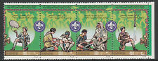 Libya 5004 - 1982 75th ANNIV of SCOUTING strip of 4  unmounted mint