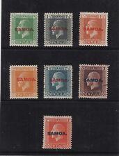 SAMOA 1916 OVERPRINTED MINT