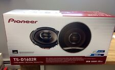 "PIONEER TS-D1602R NEW 6 1/2"" 2WAY CAR SPEAKERS TSD1602R NEW"