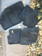 OEM Used V70 S70 850 Floor Mats Charcoal Gray Black All Weather Rubber Rare IPD