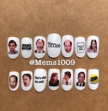 The Office Nail Art Nail (water decals) The Office Nail Decals