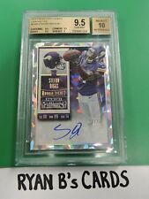 2015 Panini Contenders Stefon Diggs Cracked Ice Rookie Card RC 12/23 SSP! WOW!!