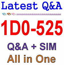 CIW E-Commerce Designer V5 1D0-525 Exam Q&A PDF+SIM
