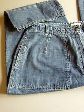 H ! CASUAL Capri Pants with 4 Pockets  Sz 16us 100%cotton Jeans look  (SPORTY)