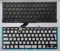 "Tastatur Apple MacBook Pro A1425 Retina 13"" 2012 Keyboard LED backlit Folie"