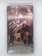 DIRTY DANCING 1988 VHS Video Tape Patrick Swayze Jennifer Grey Cynthia Rhodes