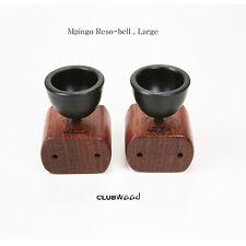 Audio Room Tuning Resonance Bell Large Ebony African Blackwood Mpingo clubWOOD