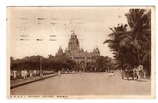 BB & CI Railway Offices - Bombay Photo Postcard 1931