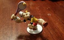 Popeye Figurine Sports Pvc Figure Hongle Tennis RARE