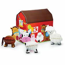 Centrepiece Set Farm Friends Birthday Party Boys Girls Table Decoration