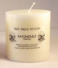 Patchouli parfumé Bougie église, 7,5 mm x 7.5cm