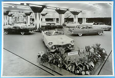 """12 By 18"""" Black & White Picture 1954 Cadillac Motorama"""