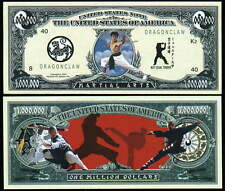ART MARTIAUX - BILLET de collection 1 MILLION DOLLAR ! SHAOLIN KARATE NINJA KATA
