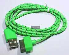 Fabric USB Charge Sync Cable For Apple iPhone 3G/S 4/4S iPad iPod Touch Nano