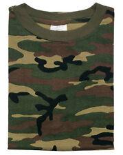 T-SHIRT CAMOUFLAGE ARMY BW TARN US WOODLAND UNTERHEMD SAMMLER Gr. XXL
