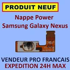 ✖ NAPPE BOUTON POWER ALLUMAGE SAMSUNG GALAXY NEXUS i9250 FLEX ✖ NEUF ET GARANTI