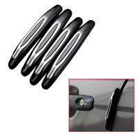 4x Car Door Edge Guard Scratch Protector Anti-collision Bumper Strips Accessory