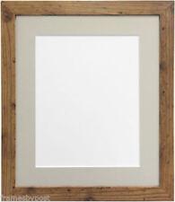 Oak Rustic Photo & Picture Clip Frames/Frameless Frames