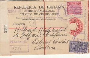 Panama / Stationery / Airmail / Postmarks / U.S. / Censorship