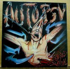 AUTOPSY Severed Survival ORIG 1989 Peaceville Records LP MINT-!! +Insert METAL