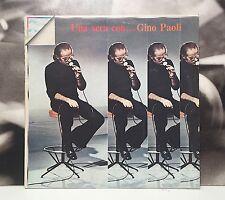 GINO PAOLI - UNA SERA CON .. LP VG+ TO EX- ENNIO MORRICONE G. REVERBERI RISTAMPA