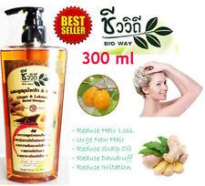 Hair Loss Shampoo Ginger Lakoocha Thai Herb Hair Growth Scalp Oil Dandruff 300ml