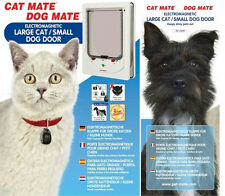 DOG MATE CAT MATE ELECTROMAGNETIC LARGE CAT DOOR SMALL DOG DOOR