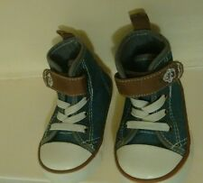 Kids infant boys high top shoes, size 4