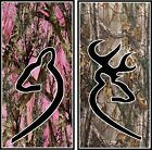 His & Her Camo custom cornhole board vinyl wraps stickers posters decals skins