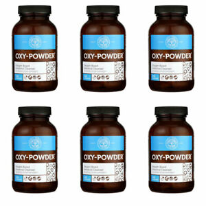 Oxy-Powder Colon Cleanse Natural Laxative Constipation Relief Pills (6-PACK)