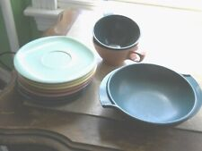 10 Piece Boonton & Boonton Belle dishes, various colors & pieces Ships Free
