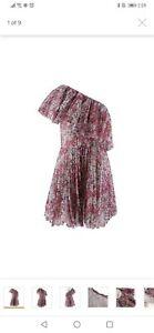 Giambattista Valli x H&M Off The Shoulder Floral Chiffon Dress Size 36
