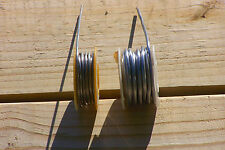 "2 Rosin-Core Solder sizes on 2-Rolls Kester-Litton USA-made .092"" & .119"" across"