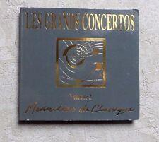 CD AUDIO/ LES GRANDS CONCERTOS VOL.2 MERVEILLES DU CLASSIQUE BACH, HAYDN, MOZART
