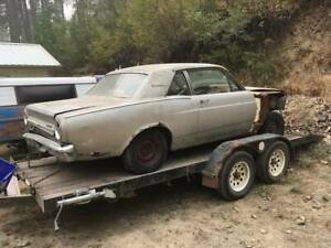 1966 Ford Falcon Sports Coupe tail lights