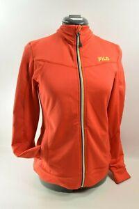 Women's Fila Sport Performance Track, Yoga, Jogging Jacket, Size Small 4 Pockets