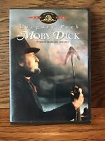 Moby Dick (DVD) Disc NM Gregory Peck Whale John Huston Herman Melville