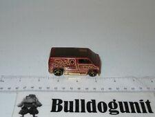 2008 Custom 77 Dodge Van Hot Wheels Car Diecast Brown