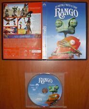 Rango [DVD] idiomas: Castellano e Inglés con la voz de Johnny Deep en V.O.
