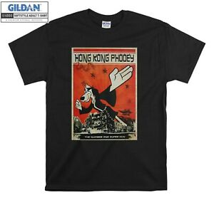 Hong Kong Phooey NumberOne T-shirtSuper Guy T shirt Men Women Unisex Tshirt 566