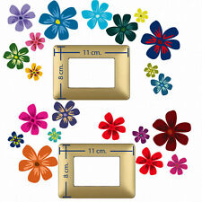 Adesivi Murali interruttori luce fiori flowers switch sticker 20 pz.