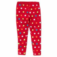 Gymboree Cozy Cutie Polka Dot Legging Candy Cane Red Size 9 Back To School Camp