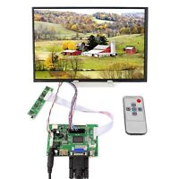 "HDM I VGA 2AV LCD Controller Board 10.1"" M101NWWB 1280x800 IPS LCD Display"