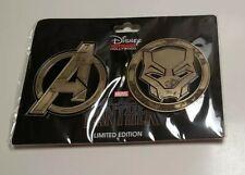 Disney Studio Store Hollywood Limited Edition- Black Panther emblem set